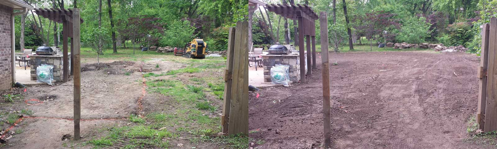 Dirt Work: Before and After